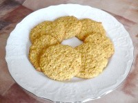 Як приготувати пісне вівсяне печиво з апельсином - рецепт