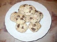 Як приготувати пісне печиво з шоколадом - рецепт