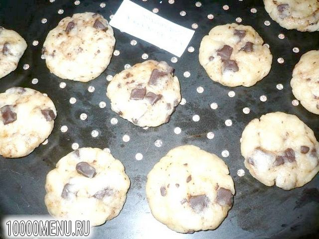 Фото - Пісне печиво з шоколадом - фото 5 кроку