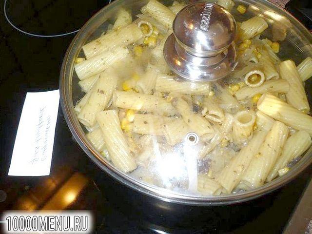 Фото - Пісне рагу з макаронів і кукурудзи з грибами - фото 6 кроку