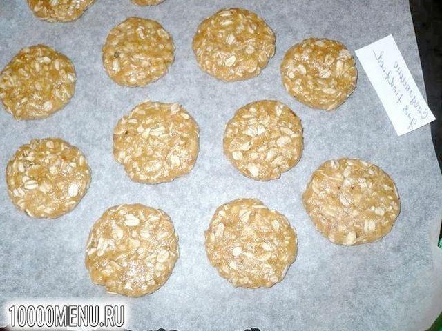 Фото - Пісне розсипчасте печиво з вівсяними пластівцями - фото 5 кроку