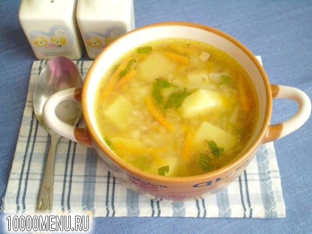 Фото - Пісний гречаний суп з гарбузом - фото 11 кроку