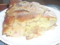 Як приготувати пісний яблучний пиріг на мінеральній воді - рецепт