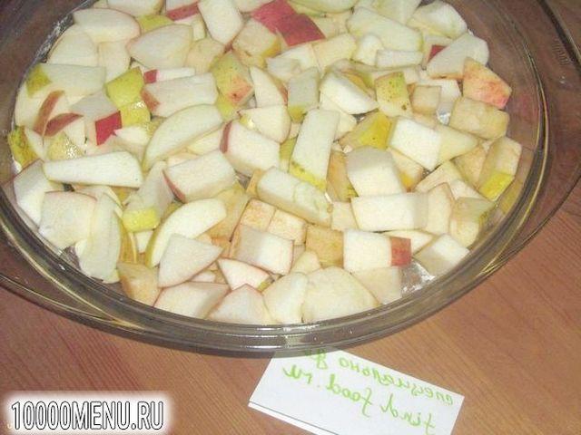 Фото - Пісний яблучний пиріг на мінеральній воді - фото 1 кроку