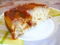 Як приготувати пісний пиріг-перевертиш з бананами - рецепт