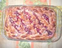 Як приготувати пісний пиріг з вишнею - рецепт