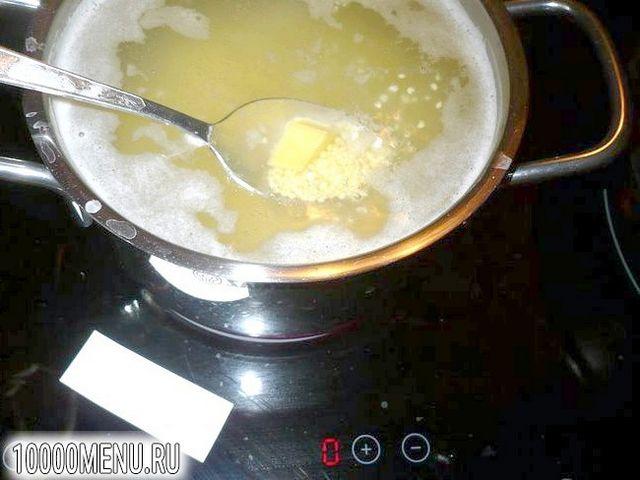 Фото - Пісний пшоняний суп з грибами - фото 3 кроки