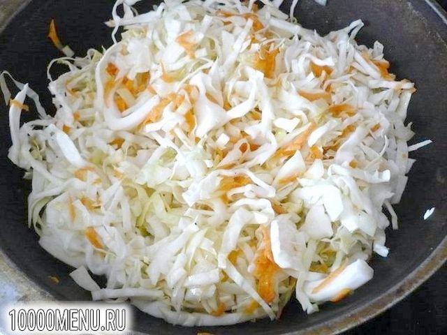Фото - Пісний рис з тушкованою капустою - фото 3 кроки