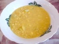Як приготувати пісний суп гороховий з сочевицею і кабачком - рецепт