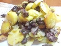 Як приготувати святковий картопля запечена з яловичиною - рецепт
