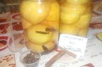 Як приготувати пряні консервовані персики? рецепт