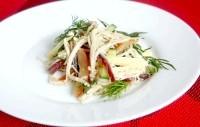 Як приготувати салат грибний - рецепт