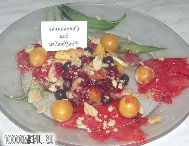 Фото - Салат ягідний мікс з малиновим сиропом - фото 7 кроку