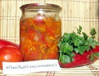 Як приготувати салат річний з овочами - рецепт