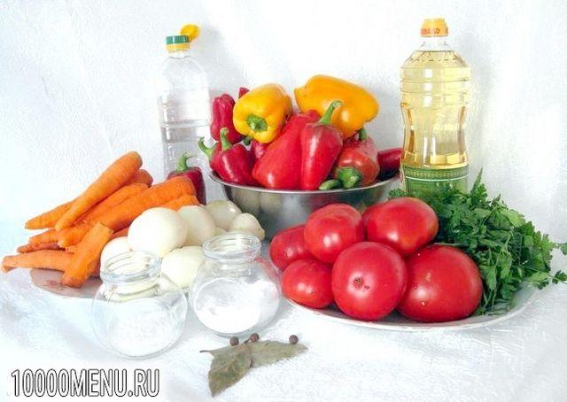 Фото - салат Літній з овочами - фото 1 кроку