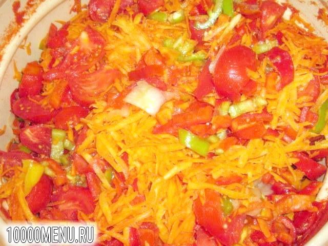 Фото - салат Літній з овочами - фото 5 кроку
