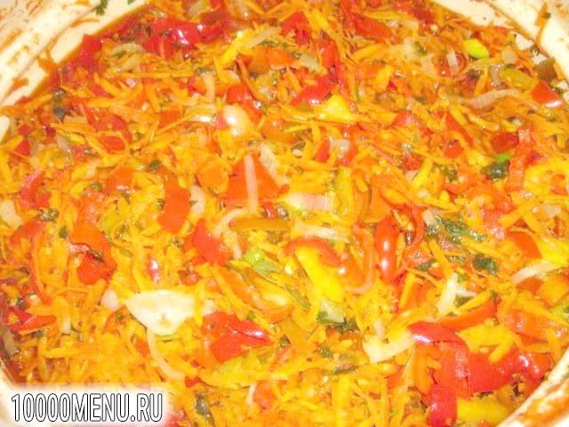 Фото - салат Літній з овочами - фото 7 кроку