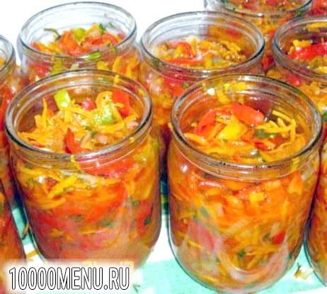 Фото - салат Літній з овочами - фото 8 кроку