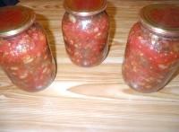 Як приготувати салат з квасолею на зиму - рецепт