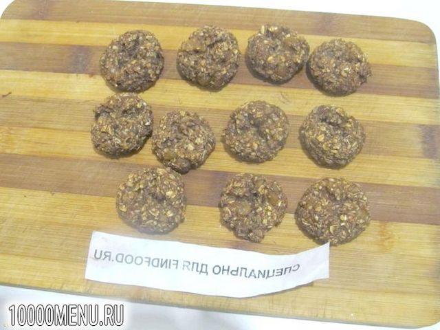 Фото - Шоколадно-вівсяне печиво - фото 5 кроку