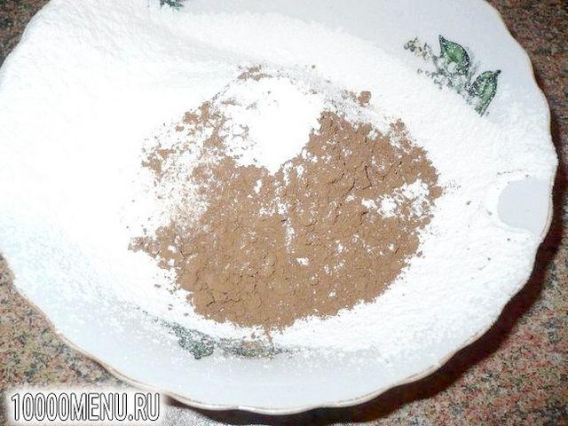 Фото - Шоколадне печиво з родзинками на розсолі - фото 3 кроки