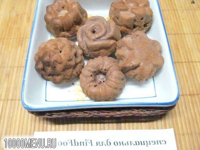Фото - Шоколадні кекси з сиром - фото 10 кроку