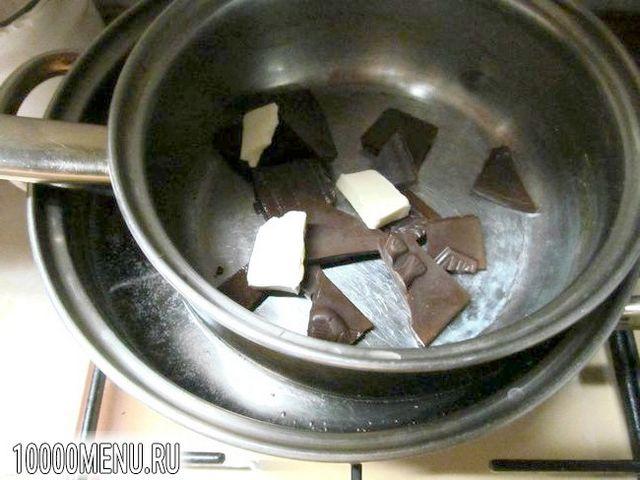 Фото - Шоколадні кекси з сиром - фото 12 кроку