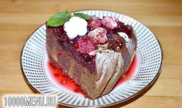 Фото - Шоколадний торт Ягідна поляна - фото 17 кроку