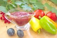 Як приготувати сливову аджику з угоркі - рецепт