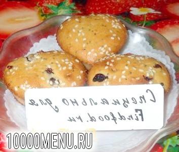 Фото - Смородинові кекси - фото 6 кроку