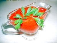 Як приготувати соус гострий з помідорів і перців - рецепт