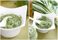 Як приготувати соус песто з черемшею - рецепт