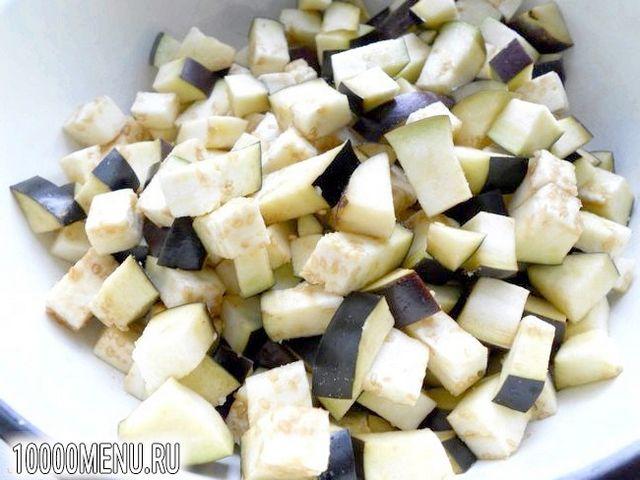 Фото - Свинина з баклажанами в гострому соусі - фото 2 кроки