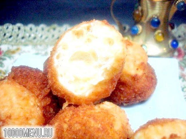 Фото - Сирні пончики повітряні - фото 7 кроку