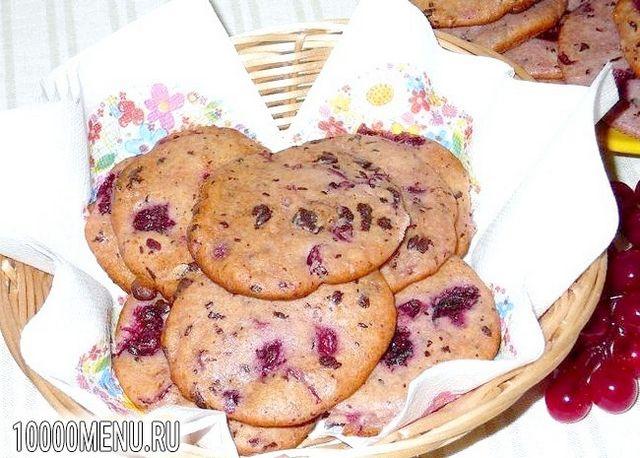 Фото - Сирне печиво з вишнею та шоколадом - фото 6 кроку