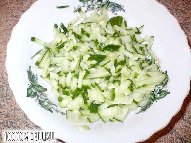 Фото - Вегетаріанський олів'є - фото 3 кроки