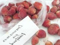 Як приготувати заморожену полуницю - рецепт