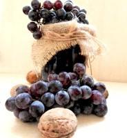 Як приготувати запечене варення з винограду з волоськими горіхами - рецепт