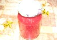 Як приготувати зимовий малини варення - рецепт