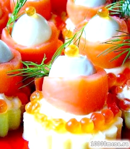 Фото - Морська закуска з сьомги