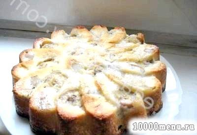 Кулінарний рецепт фруктова шарлотка з фото