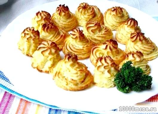 Кулінарний рецепт гарнір з картоплі