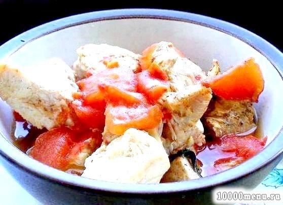 Кулінарний рецепт індичка з овочами у фользі з фото