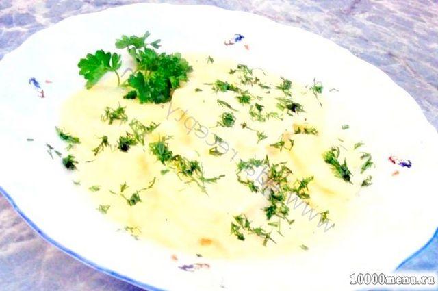 Кулінарний рецепт картопля у вершковому соусі з фото
