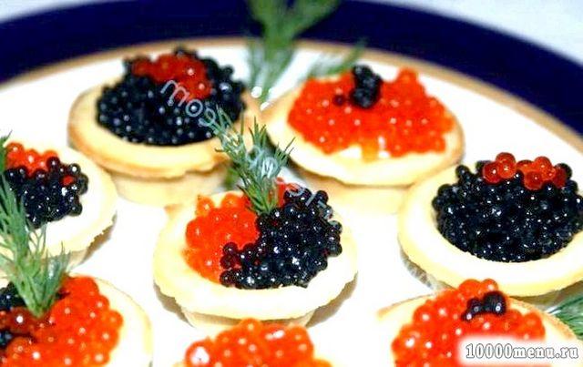 Фото - Королівська закуска в тарталетках