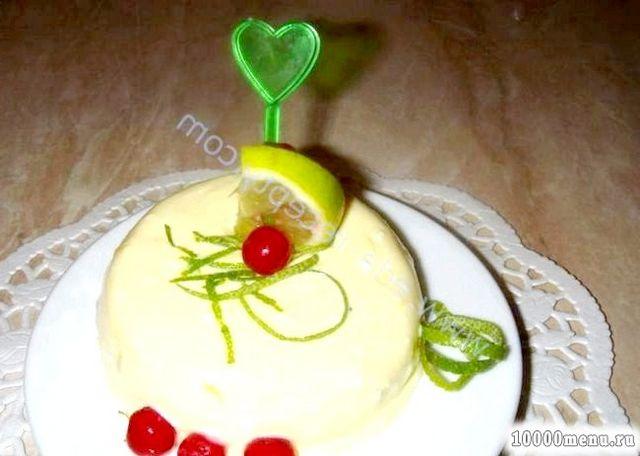 Кулінарний рецепт лаймовий мус з фото