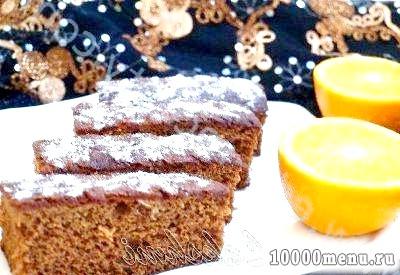 Фото - Леках - єврейський медовий пиріг