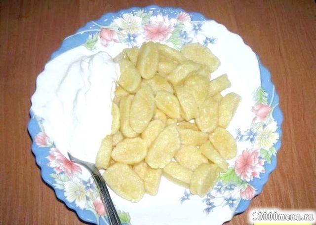 Кулінарний рецепт ліниві вареники з сиром з фото