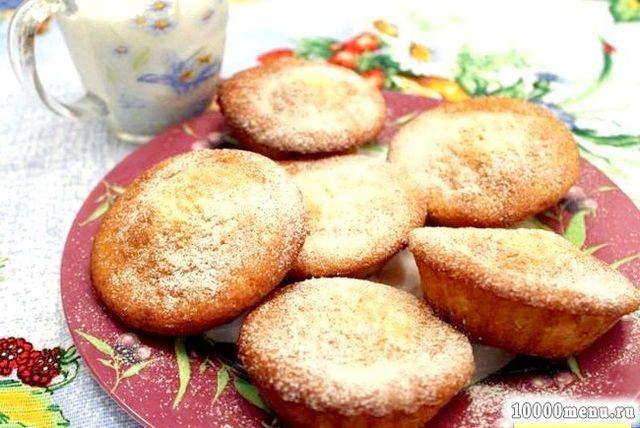 Кулінарний рецепт маленькі кекси з фото
