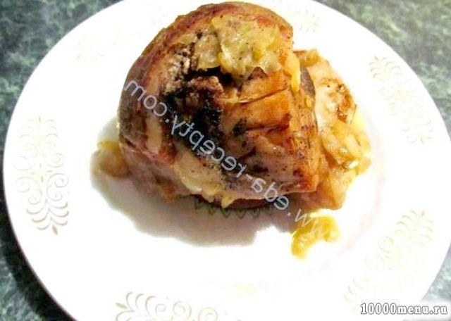 Кулінарний рецепт м'ясо в горщиках в духовці з фото